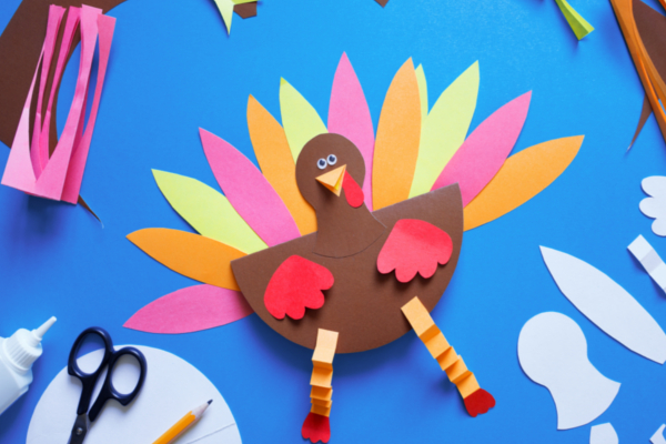 paper turkey craft